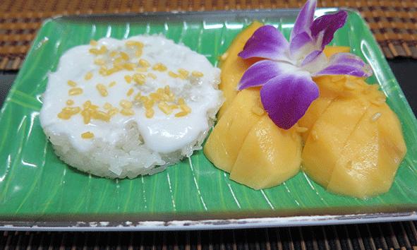 El postre de los postres: Mang Sticky rice