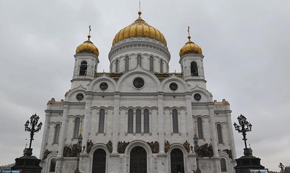 Imponente, así es la Catedral de Cristo Salvador