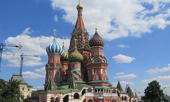 La Catedral del San Basilio, el icono de la ciudad