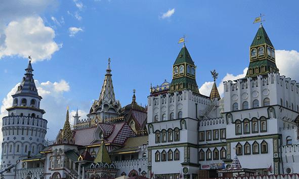 El Kremlin del mercado de Izmailovo