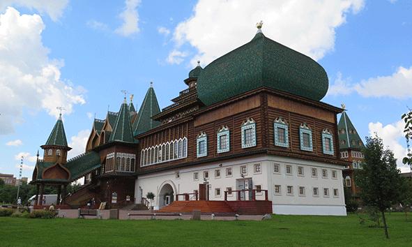 El palacio de madera del Zar Alexei
