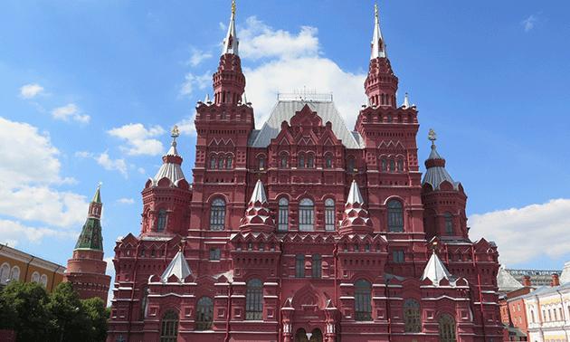 El Museo Estatal de Historia en la Plaza Roja