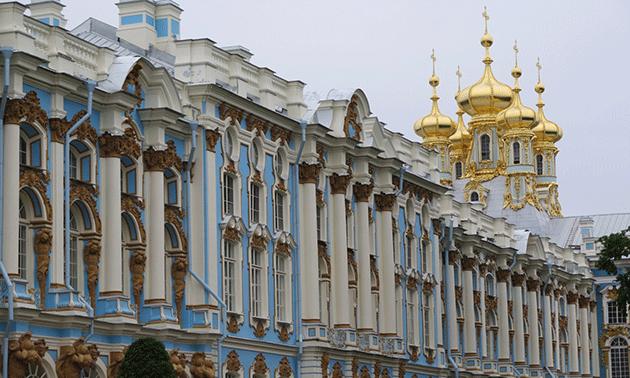 El Palacio de Catalina es la atracción más cara, pero también una de las más espectaculares